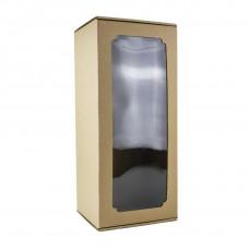 Коробка с окном F9.1, МГК бурый, 45 х 19 х 17 см