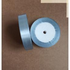 Лента атласная 1,5см*25 ярд, серый, №059