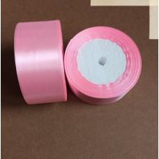 Лента атласная 4см*25 ярд, розовый, №04