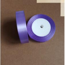 Лента атласная 2см*25 ярд, фиолетовый, №021