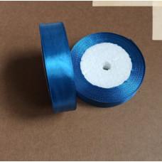 Лента атласная 2см*25 ярд, светло-синий, №096