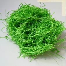 Наполнитель бумажный ярко-зеленый, 50г.