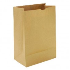 Пакет бумажный 22х29х12 см, крафт