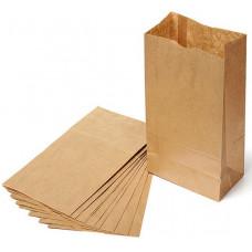 Пакет бумажный 12х24х8,5 см, крафт