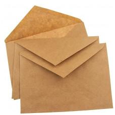 Крафт конверт C5, 162*229 мм