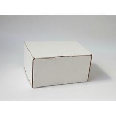 Самосборная коробка 15,1х11,7х8 см, белый микрогофрокартон