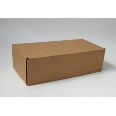 Самосборная коробка 23х11,5х7 см, микрогофрокартон