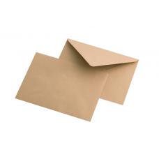 Крафт конверт C6, 114*162 мм