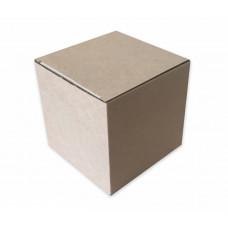 Самосборная коробка 12х12х12 см, микрогофрокартон