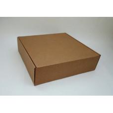 Самосборная коробка  31х31х9 см, микрогофрокартон