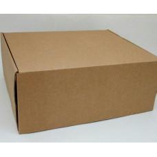 Самосборная коробка 34х29х14 см, микрогофрокартон