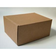 Самосборная коробка 22х17х10,5 см, крафт микрогофрокартон
